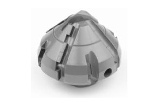 Cone-Cylinder Milling Cutter with Carbide tip