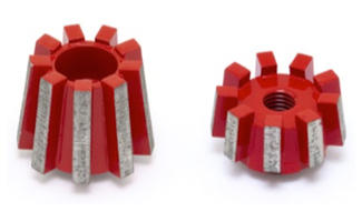 Diamond Taper Milling Cutter
