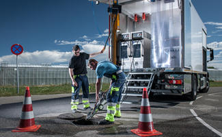 Müller first German contractor to offer 1000bar precision pipe cleaning in Germany