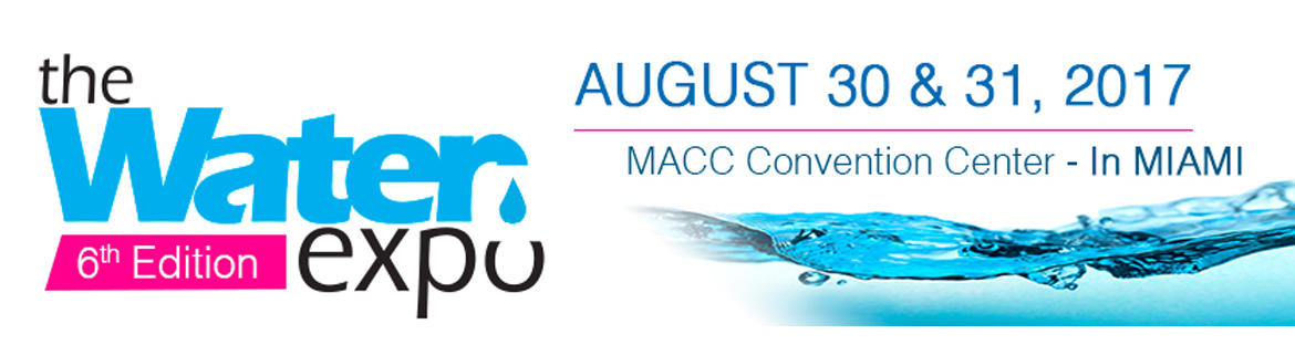Meet us at Booth: 823 of the Water Expo 2017