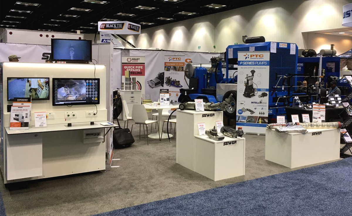 WWETT19 Sewer Robotics booth #2425